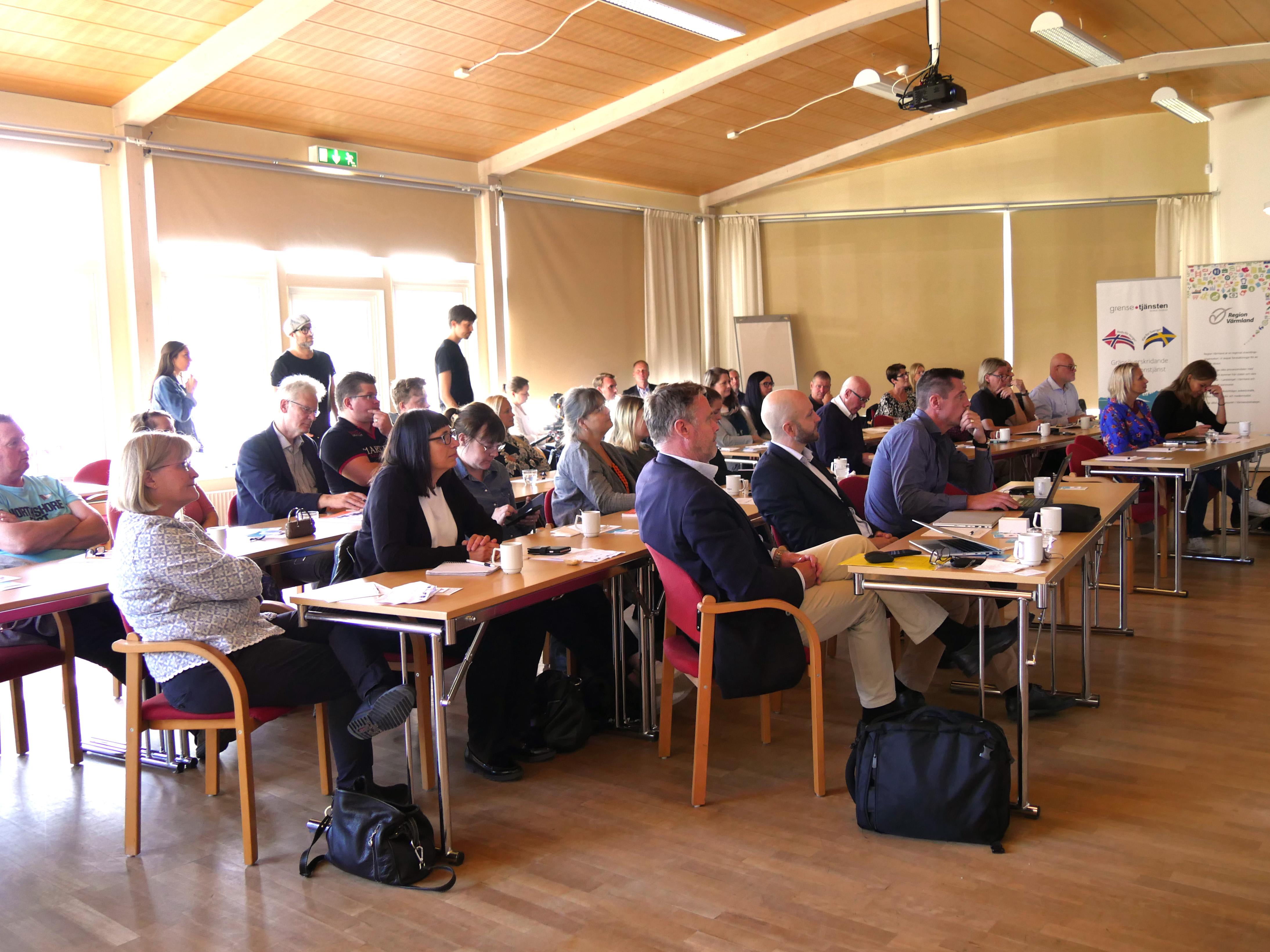 Publik vid seminariet i Sunne