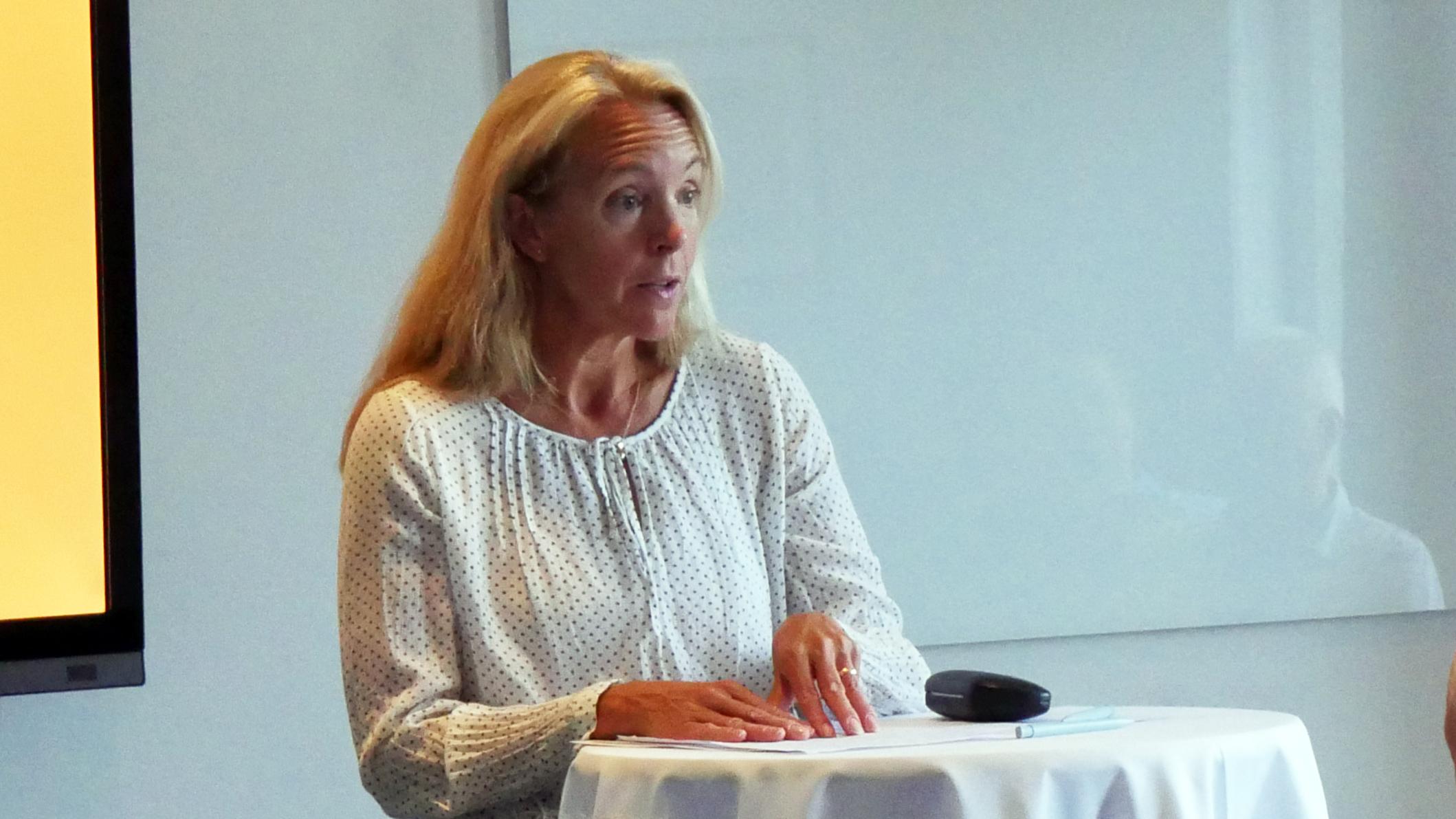 Jessica Hedin, ministerråd vid Sveriges ambassad i Oslo